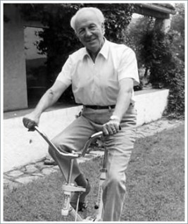 Josep Trueta bicicleta